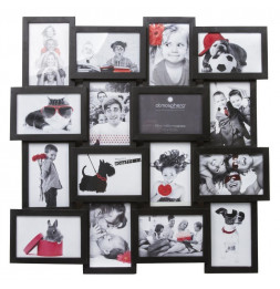 Pele-mele -  16 photos 10 x 15 cm standards - Noir