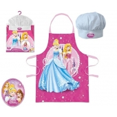 Tablier et toque - Princesses Disney - Enfants