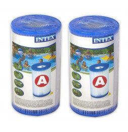 Pack de 2 cartouches de filtration type A - Intex