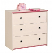 Commode - Smoozy - Beige - l 79 x P 40 x H 75 cm