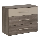 Commode - Alix - Taupe - l 90 x P 41 x H 71 cm