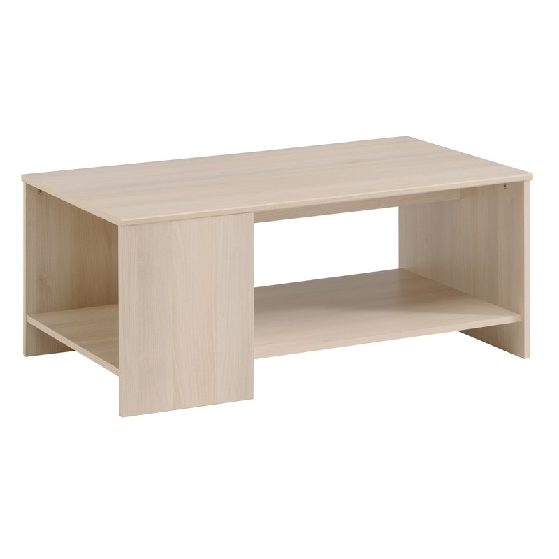 Table basse infinity acacia l 100 x p 55 x h 40 cm for Table basse acacia