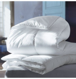 Couette microfibres 2 personnes - 220 x 240 cm - By Night blanche