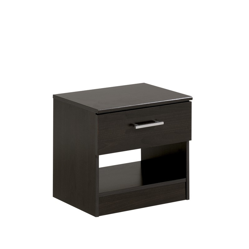 Table De Chevet Infinity Caf L 45 X P 30 X H 40 Cm