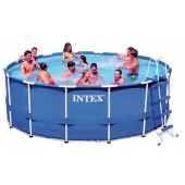 Piscine Tubulaire ronde - 3,66 x 0,99 m - Intex