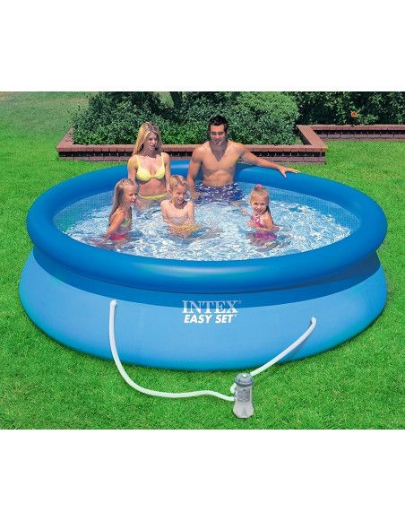 Piscine Easy Set - 4,57 x 1,07 m - Intex