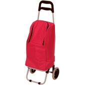 Chariot de course isotherme - 25 l - Rose Framboise