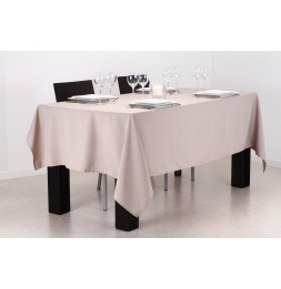 Nappe anti taches rectangulaire 140 x 240 cm - Lin