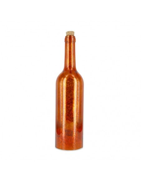 Bouteille lumineuse - Orange - Lampe d'ambiance