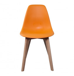 Chaise scandinave - Orange