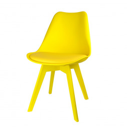 Chaise scandinave - Full - Jaune