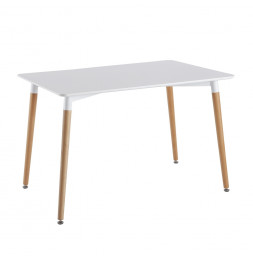 Table - Rectangulaire - Blanc
