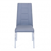 Chaise - 4 pieds - Gris