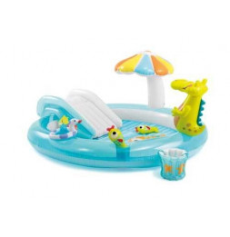 Aire de jeu alligator - Gonflable - Intex