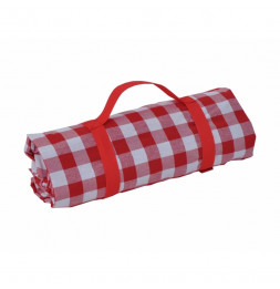 Nappe XXL pique-nique grands carreaux - Vichy - Rouge