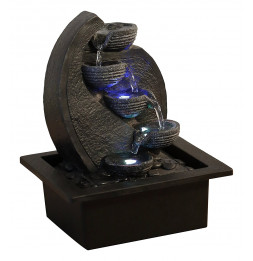 Fontaine Cascade - Zen'Light - H 26 cm