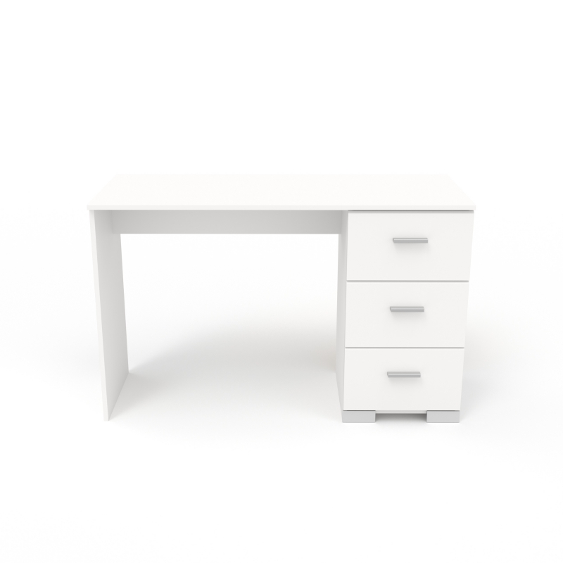 bureau galaxy 120 x 75 1 x 50 cm panneau de particules blanc ac deco. Black Bedroom Furniture Sets. Home Design Ideas