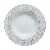 Assiette creuse Jungle chic - D 21,5 cm