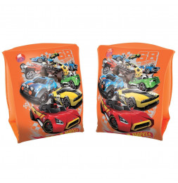 Brassards - Hot Wheels - 23 x 15 cm - Orange