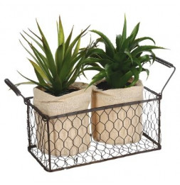 aloe vera - Plante artificielle - Lot de 2