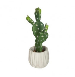 Cactus artificiel - Design origami - H 25.5 cm