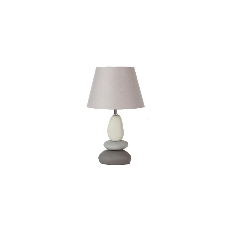 Lampe poser galet for Lampe a poser contemporaine