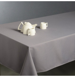 Nappe anti taches rectangulaire 150 x 300 cm - Gris