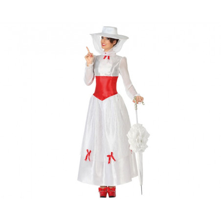 Déguisement Mary Poppins - Adulte - M/L - Blanc