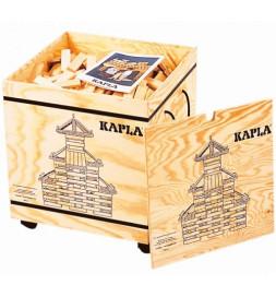Kapla - Coffre de 1000 planchettes avec livrets - Jeu de construction pour enfants