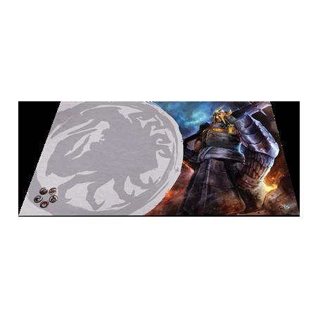 Tapis de jeu défenseur du mur - Légende des cinq anneaux - Jeu de cartes évolutif