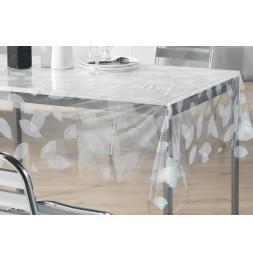 Nappe imperméable rectangulaire en PVC - 140 x 240 cm - Imprimé feuilles