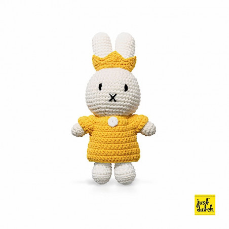 Doudou Reine - L 25 x l 10 x H 35 cm - Miffy - Blanc