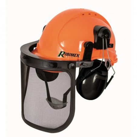 Casque de protection 3 en 1 - Orange