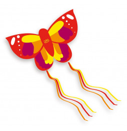 Cerf volant en forme de papillon - jeu plein air