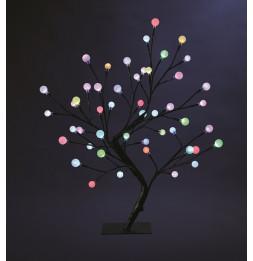 Arbre lumineux multicolor 45 cm - 48 LEDs - Décoration lumineuse