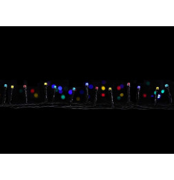 Guirlande lumineuse 7m programmable - 96 LED multicolores - 8 fonctions