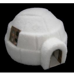 Figurine en forme d'igloo - Blanc