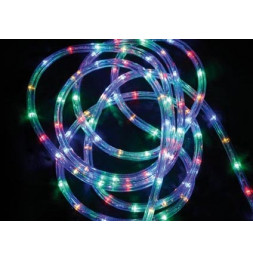Tube lumineux guirlande à LED 24m - Multicolore - 8 fonctions