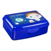 Boite à gouter - Lunch box + gourde 550 ml - Bleu foncé