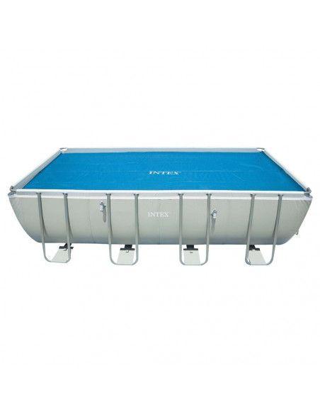 Bâche à bulles pour piscine - Intex -  5,49 x 2,74m
