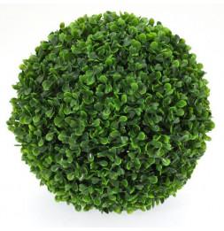Boule de buis - Plante verte artificielle - D 28 cm