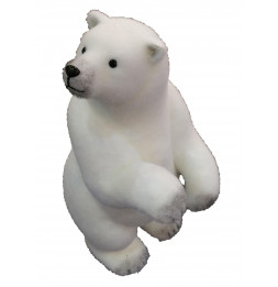 Figurine ours polaire - 50 cm