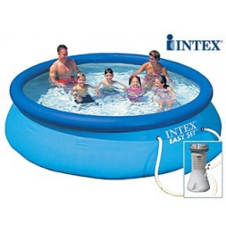 Kit piscine autoportante 3m66 Piscine ronde - Easy Set - Intex