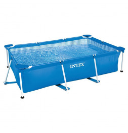 Kit piscine tubulaire rectangle 3x2x0.75m - Epurateur à cartouches inclus -  Intex