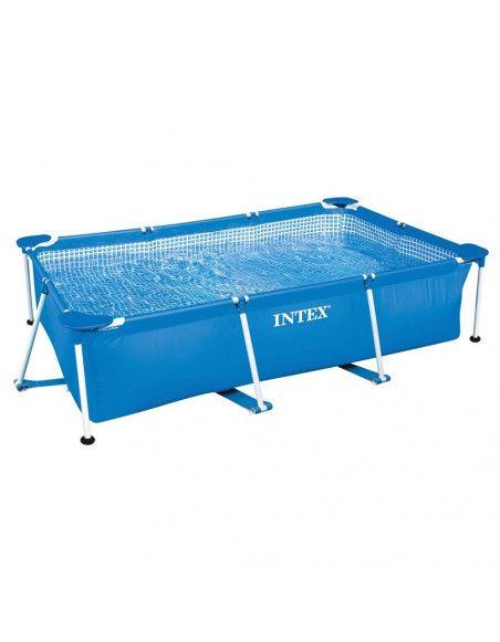 Kit piscine tubulaire rectangle 3x2x0.75m - Epurateur à cartouches inclus -  Intex