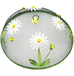 Cloche protége plats - Marguerites