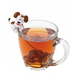 Boule à thé os immergé - Infuseur chien