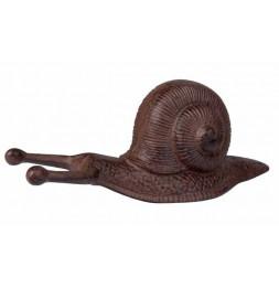Tire bottes en forme d'escargot - Fonte - Accessoire de jardin
