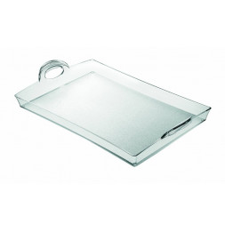 Plateau rectangulaire transparent - Guzzini