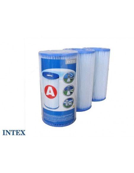 Cartouche de filtration pour piscine - Lot de 3 - type A - Intex